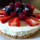 No-bake lemon cheesecake recipe - Allrecipes.co.uk