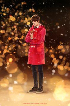 Kai - Miracles in December - EXO - Fanart