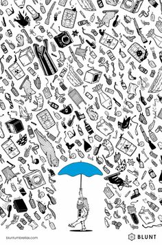 Blunt Umbrellas: Hippie