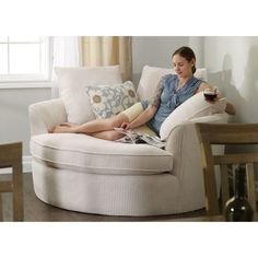 Perfect reading chair #LeatherSectionalSofas #ComfyChair