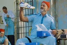 Adidas released Bill Murray's The Life Aquatic shoes