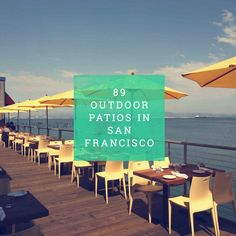 Every single patio in San Francisco, sorted by neighborhood. Great resource for a sunny day out. BECAUSE I LOVE PATIOS! San Francisco Bars, San Francisco Travel, Oh The Places You'll Go, Places To Travel, Lac Tahoe, Restaurant Patio, Destinations, Wanderlust, Little Bit