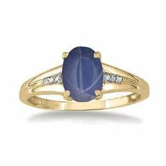 Gemologica Yellow Gold Oval Cut Blue Star Sapphire Diamond Womens Ring By Gemologica - A blue star sapphire gemstone take center stage on this beautiful ring. The ring contains a 8 X Star Sapphire Gemstone, Blue Star Sapphire, Sapphire Diamond, Gemstone Rings, Sapphire Rings, Blue Rings, Yellow Gold Rings, Black Gold, Beautiful Rings