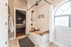 Modern Farmhouse Bathroom Before & After - Irwin Construction Bathroom Remodel Cost, Bath Remodel, Bathroom Renovations, Shower Remodel, Mold In Bathroom, Small Bathroom, Master Bathroom, Bathroom Ideas, Basement Bathroom