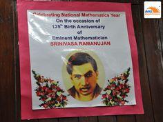 AVAS Paying tribute to Srinivasa Ramanujan on his 125th Birth Anniversary, event held at IIT Delhi, organized by AVASINDIA