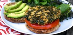 Recipe | Basic Kale Burger | Dawn Jackson Blatner, Registered Dietitian