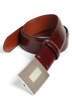 BOSCA Leather belt $140 shop.nordstrom.com