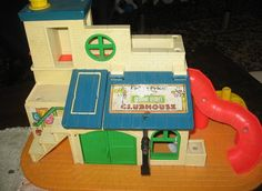 Sesame Street little People club house, I had this! Where is it now?