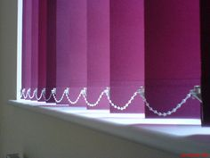 Vertical window blinds, a great solution to privacy and shading. www.blindology.co.uk Vertical Window Blinds, Blinds For Windows, Shades, Curtains, Home Decor, Shades For Windows, Blinds, Decoration Home, Room Decor