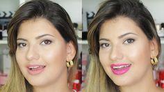 Volta as aulas - Maquiagem fácil para escola e faculdade, maquiagem rápida e fácil para o dia a dia.