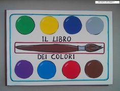 Risultati immagini per il libro dei colori maestra nella