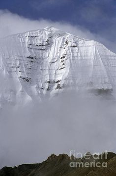 North Face of Mount Kailash, Tibet