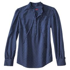 Merona® Women's Perfect Polka Dot Blouse Top - Assorted Colors