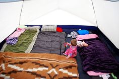 Ideas to make camping more organized and comfortable