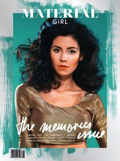 Marina and the Diamonds - Material Girl Magazine Spring/Summer 2015