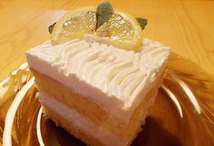 Citromos-tejfölös süti | NOSALTY – receptek képekkel Lemon Sour Cream Cake, Cheesecake, Dessert Recipes, Food And Drink, Pudding, Cooking, Cakes, Heavenly, Foods