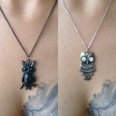 Forever 21 owl necklace bundle two owl necklaces. good condition. Forever 21 Jewelry Necklaces