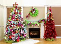 Gorgeous-trendy-color-schemes-for-this-year-Christmas-sparkle-holiday