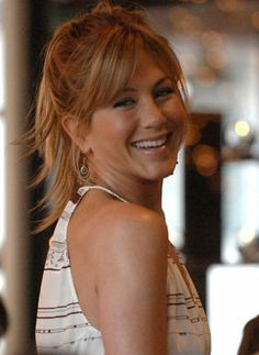 jennifer aniston hair bangs - Google Search
