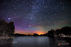 Mike Taylor captured this image of the Milky Way, green airglow, aurora borealis and the blazing tail of a meteor over Branch Pond, Maine on June 10, 2013. (http://miketaylorphoto.com/)
