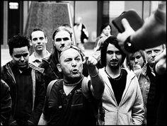 Street Evangelism: sinners. (bw) by e_alnak, via Flickr