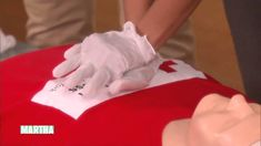 """Lipica Shah of the Red Cross demonstrates the correct way to perform CPR, one of the essential how-tos in Martha's """"20 More Things Everyone Should Know"""" seri..."""