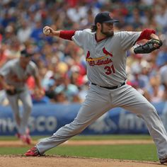 July 27, 2012. Lance Lynn earned his 13th victory of the season as the Cards beat the Cubs 9-6.