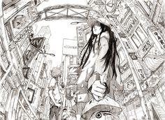 Playground: Fish's Eye by ~hakumo on deviantART