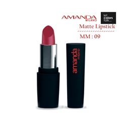 New dimension of matte lipsticks with moist matte sophisticated silky vibrant matte finish. New actives added for extra moisturization, restoring & nourishing properties. Superior glide, lightweight film, & good lip definition. Extremely comfortable & long-lasting