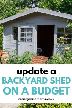 Save money on home improvement and fix up an old shed in your backyard. Get ideas on how to DIY an updated shed, make a game room for teens, a workshop or getaway. Outside Sheds, Shed Floor, Metal Shed, Floors And More, Broken Window, Barns Sheds, Diy Kitchen Remodel, She Sheds, Diy Shed