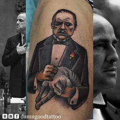Redberry Tattoo Studio Wrocław #borislav_razor #oldicontattoo #traditionaltattoo #neotradtattoo #damngoodtattoo #tattoo #inked #ink #wroclaw #warszawa #tatuaz #gdansk #redberry #katowice #berlin #poland #krakow #kraków #boryslav #dementiev #razor #godfather #ojciecchrzestny #cat #brando #marlonbrando #vintage