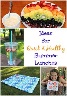 Ideas for Making Lunches Easy & Healthy this Summer