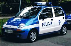 Matiz police car