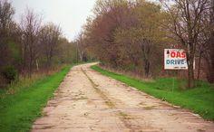 "Route 66 - Memory Lane, Lexington, Illinois. ""The Fine Art Photography of Frank Romeo."""