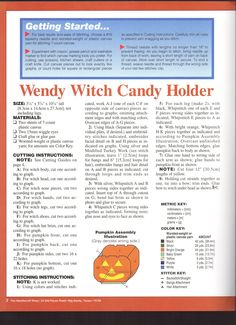 Wendy Witch Candy Holder 2/4