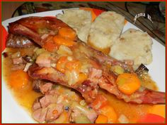 Pot Roast, Shrimp, Food And Drink, Chicken, Ethnic Recipes, Carne Asada, Roast Beef, Cubs, Kai