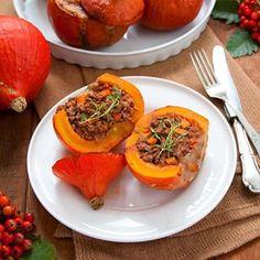 Pierniki czekoladowe w pomarańczowym lukrze - Fotokulinarnie Tex Mex, Mashed Potatoes, Food And Drink, Lunch, Stuffed Peppers, Fruit, Vegetables, Ethnic Recipes, Finger