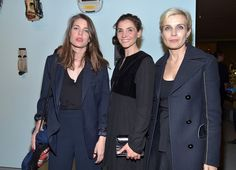 Charlotte Casiraghi attends Louis Vuitton exhibition opening