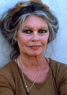 Bridget Bardot is 78...hard to believe. Still a goddess :)