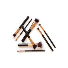 Lux Vegan Makeup Brush Essentials Cruelty Free Brushes 7c720defed9f