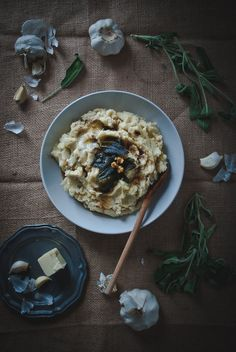 ... Brown Butter, Goat Cheese, and Sage   Recipe   Mashed Potatoes, Goat