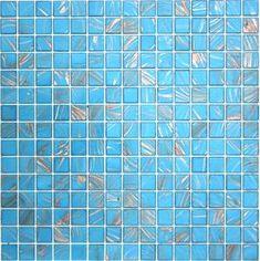 Aruba Turquoise in. Aura Metallic Aventurine Glass Mosaic Tiles have a unique marbleized effect Mosaic Tile Supplies, Glass Mosaic Tiles, Tile Stickers Kitchen, Aqua, Turquoise, Installation Instructions, Tile Design, Tile Floor, Metallic