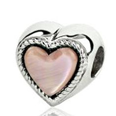 Sterling Silver Love Heart Bead Charm with Pink Mother of Pearl ARG http://www.amazon.com/dp/B005CQSTQY/ref=cm_sw_r_pi_dp_95L4wb0ECC5TJ