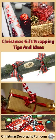 Christmas Gift Wrapping Tips And Ideas - Half the fun of giving a gift is watching it being opened. Even more fun is seeing the look on the recipient's face when you hand them a perfectly wrapped Christmas present. Not only do these gifts make quite an impression on anyone you hand them to, but they can be just as beautiful as any of the other decorations in your home, and add to the festive atmosphere.