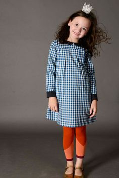 School Girl Gingham Dress | Olive Juice Fall 2015 Collection