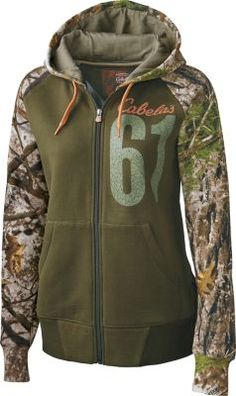 A twist on a Cabela's classic, our Women's Game Day Full-Zip Hoodie is a surefire hit for women who appreciate the outdoors. Standout chest graphics feature our signature logo and the year Cabela's began.