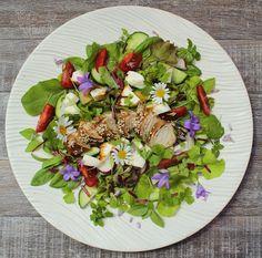 o varení, živote a tak... : Zeleninový šalát s grilovaným mäsom