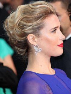 Le chignon de Vahina Giocante au Festival de Cannes 2013