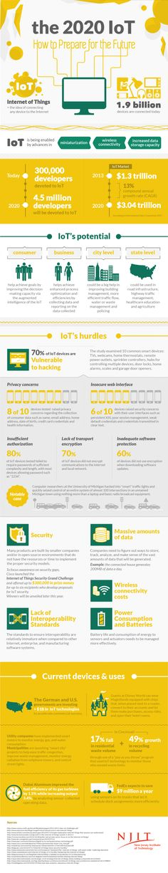 The 2020 IoT How to Prepare for the Future Infographic