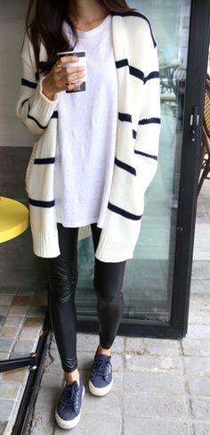 Preto & branco + creme & azul marinho